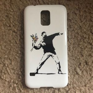 Brand new Samsung galaxy s5 bansky phone cover
